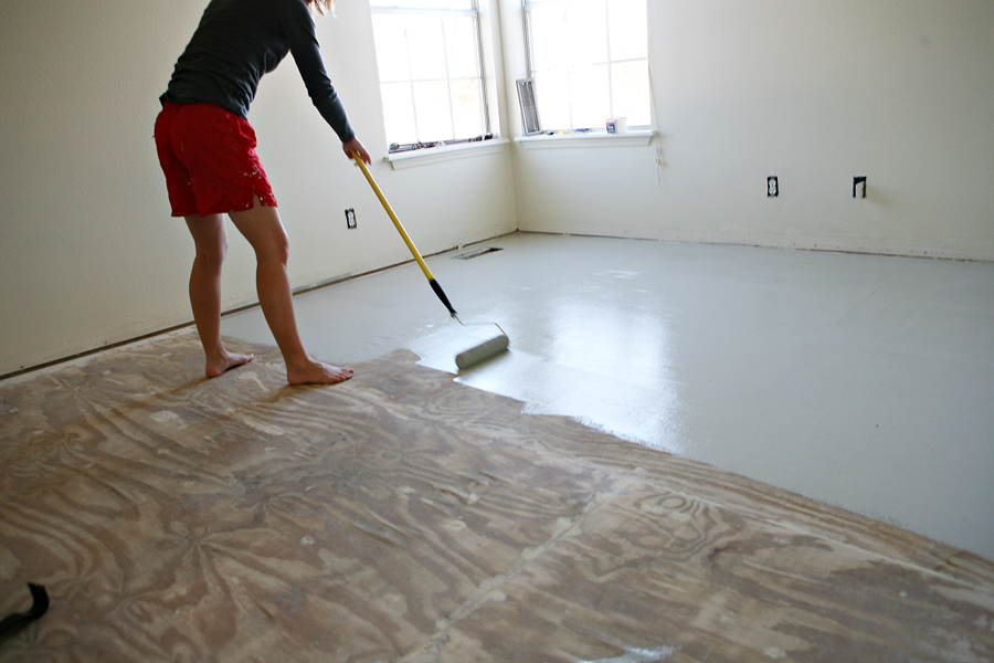 Great Idea For Sub flooring Between Ripping Up Carpet And