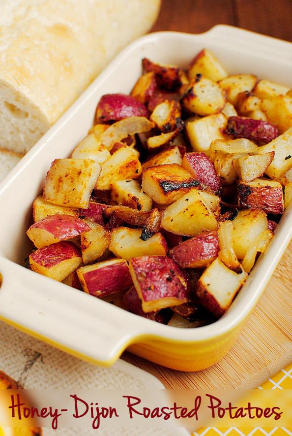 Honey-Dijon Roasted Potatoes