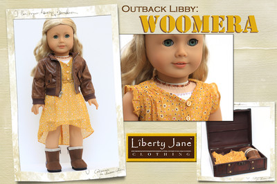 Liberty Jane – Fall 2012 International Collection – Doll Outfit designed to fit