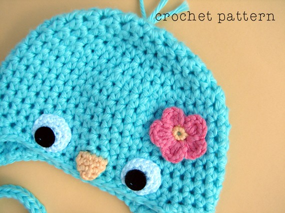 Baby bird crochet pattern