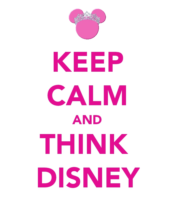 Always think Disney!