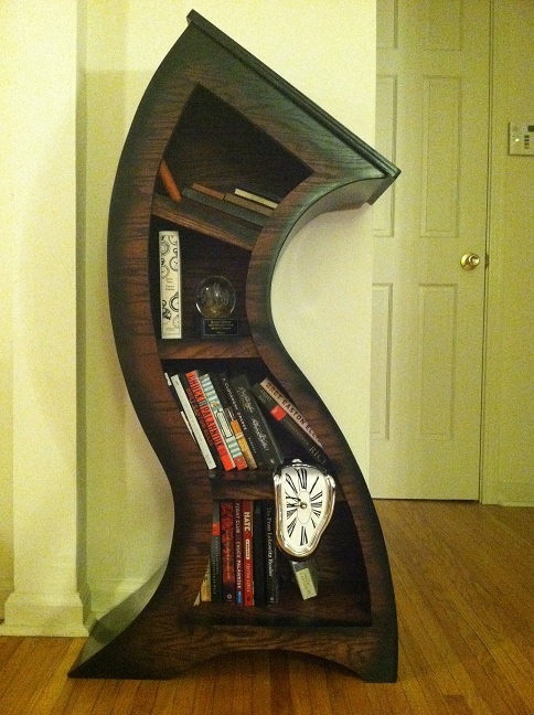 Alice In Wonderland Inspired Bookshelf ♥