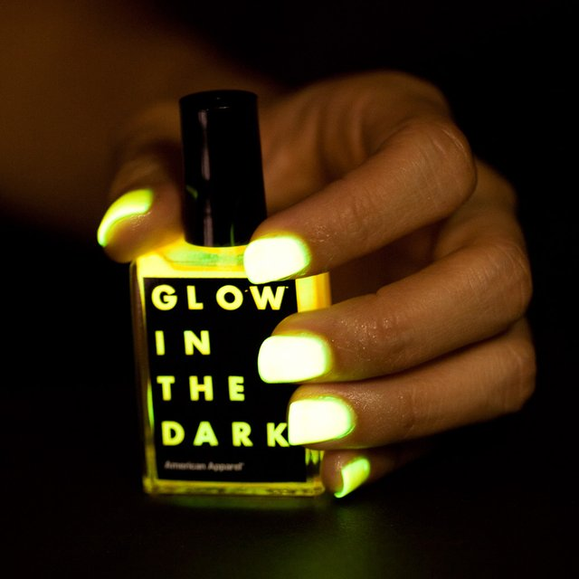 that is so epic! glow in the dark nail polish | American Apparel