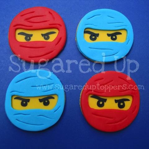 Ninjago Party  // Ninjago Cupcakes