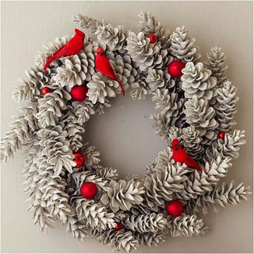 25 pretty Pretty Holiday Wreaths
