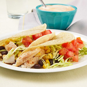 Fish Tacos with Chipotle Lime Sauce #recipe