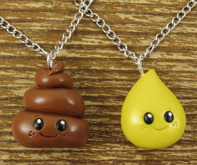 Tiny Best Friends Necklace – Pee and Poo