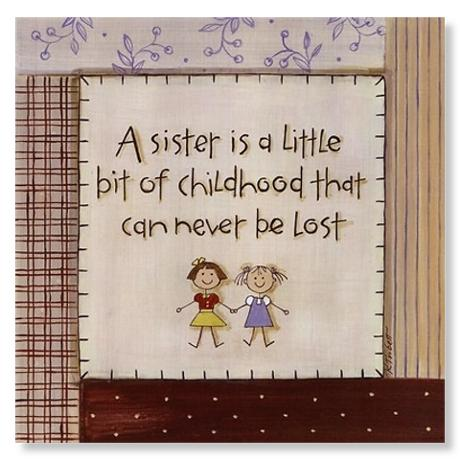 A Sister is Poster