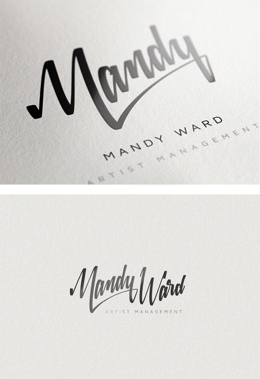 Mandy Ward Visual Identity