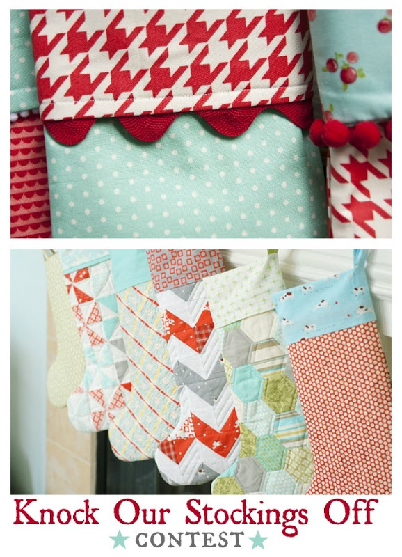 knock our stockings off contest and patterns…beautiful stockings!