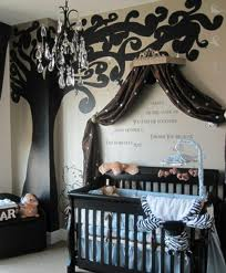 Tree baby boy room – ahhh love this!    This is absolutely perfect for a baby bo