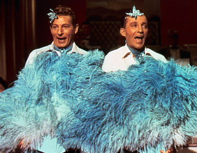 Danny Kaye and Bing Crosby in White Christmas