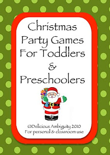 Christmas Games For Toddlers & Preschoolers