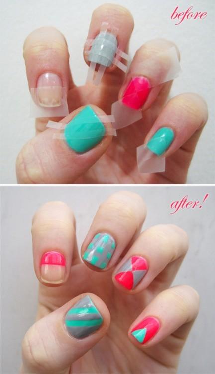 easy Nail polish designs