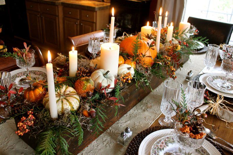 Thanksgiving/fall table