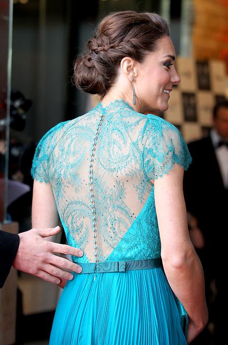 Royal braided updo