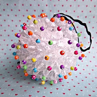 Cute idea for Christmas ornaments – maybe for Capitol Tree?