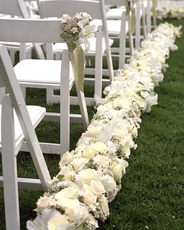 Wedding Aisle Flowers
