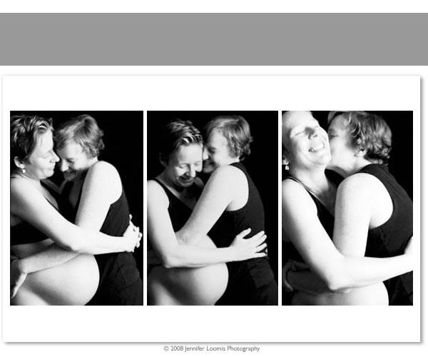 Pregnant lesbian couple ♥