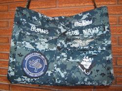 Navy wife diaper bag.