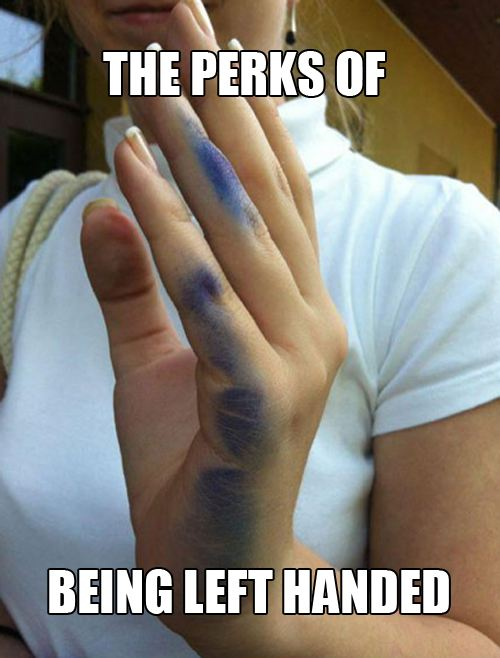 Any lefty's out there that can relate?