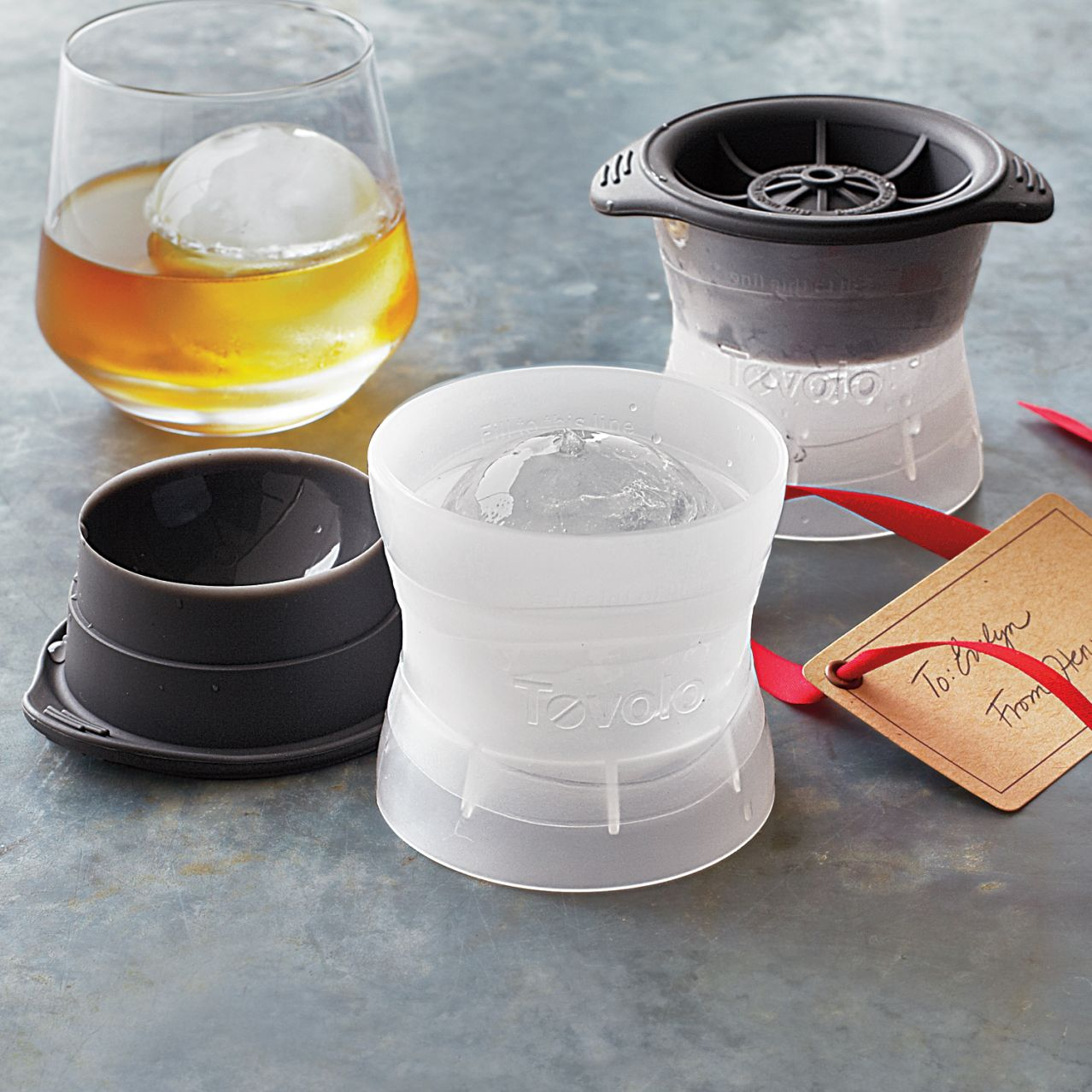 Tovolo Sphere Ice Molds Set Of 2 Sur La Table Pinpoint