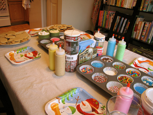 Five Steps to a Successful Cookie Decorating Party–