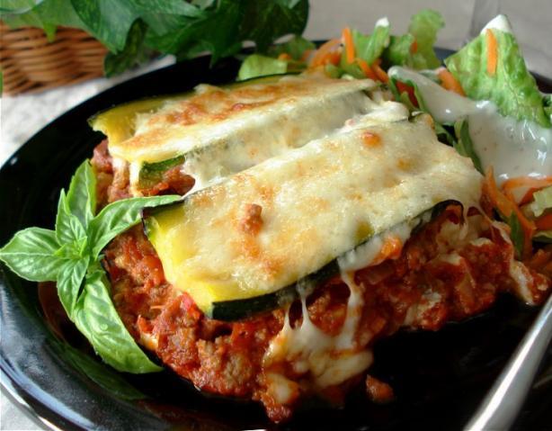 Zucchini Lasagna- Atkins