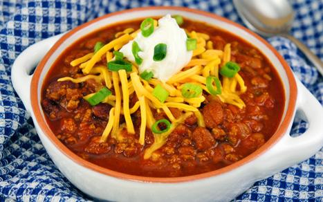 Easy Crockpot Chilli