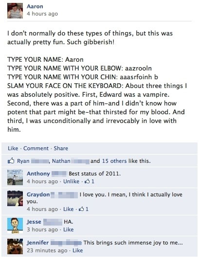 Bahaha! I like Twilight but this is too great not to repin.