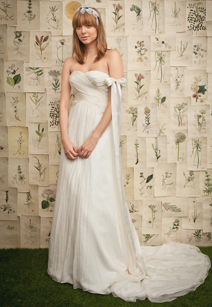 Pretty Sleeveless with Dropped waist wedding dress,wedding dress