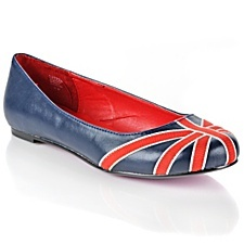 A huge fashion trend right now is using the Union Jack