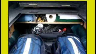 Bug Out Vehicle – Re-Inventing the Car Trunk, via YouTube.