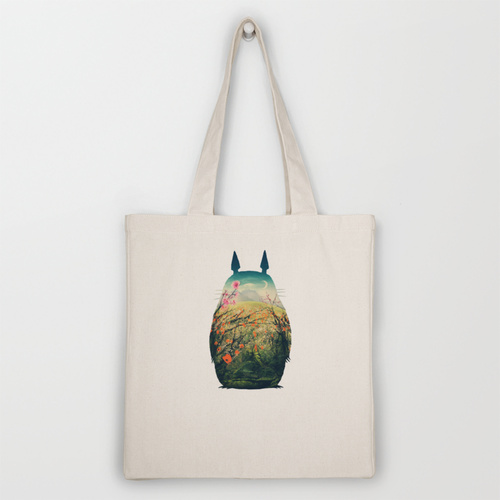 Tonari no Totoro Tote Bag by Victor Vercesi   Society6