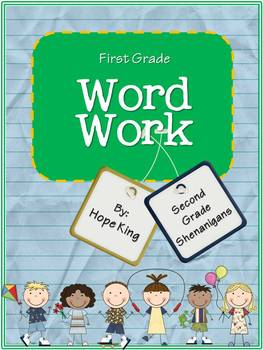 First Grade Word Work includes 28 units to build letter/sound relationships and