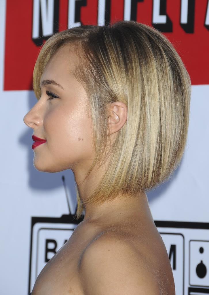 hayden panettiere: short hairstyle