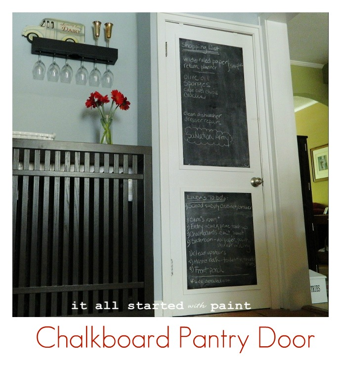 how to get crayons off a chalkboard diy