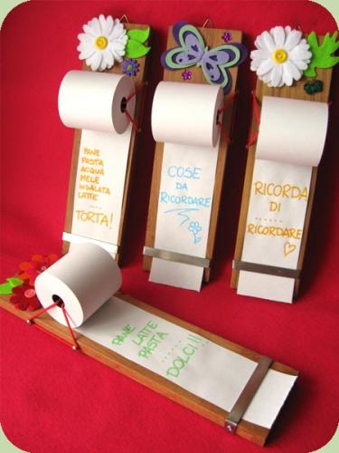 To Do List, Grocery List, etc on adding machine tape paper from office supply st