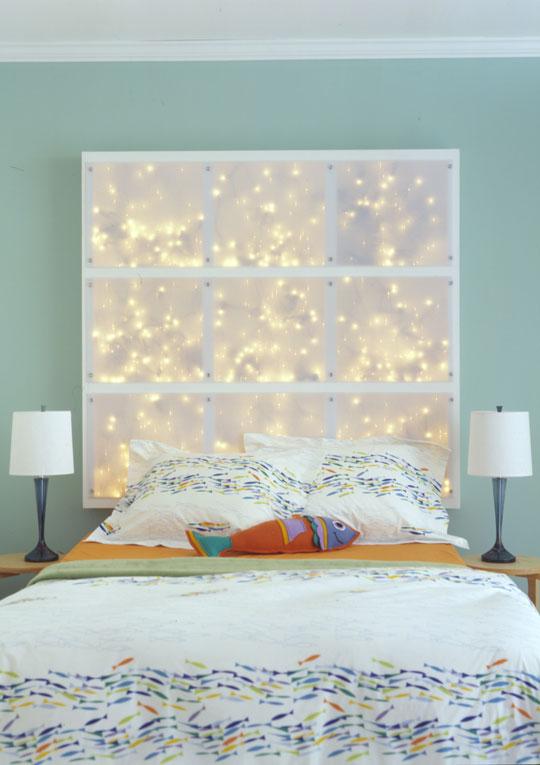 DIY, headboard, bedroom