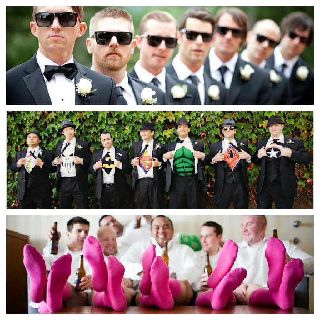 Love all these Groomsmen shots