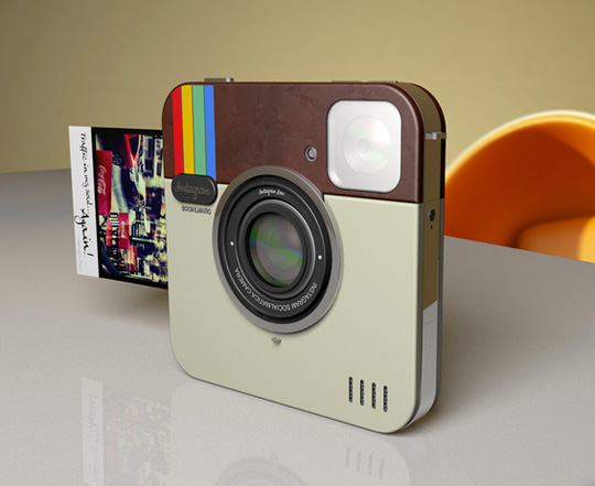 a great stocking stuffer!! instagram camera that prints real photos like a polar