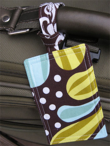Handmade luggage tags…simple and fun! I'll be making them before my next t