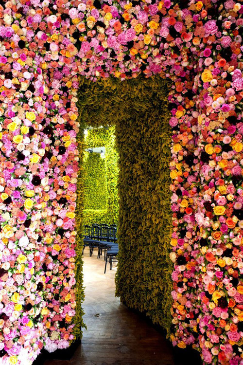 Flower Wall- what!!