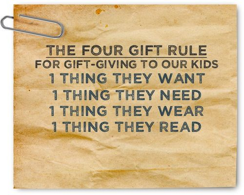 Gift rules