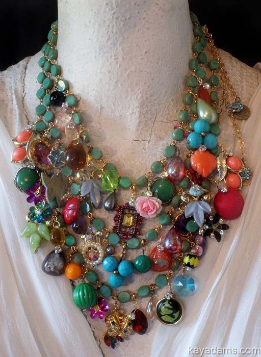 love this chunky necklace by Kay Adams