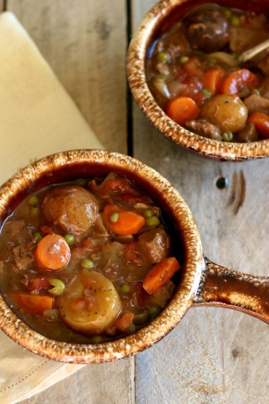 Crockpot Beef Stew. AH!! Making my mouth water lol