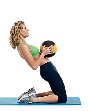 Every woman can end up with a belly pooch due to underworked lower abdominal mus