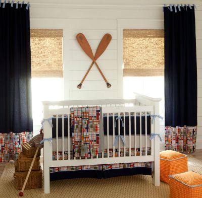 Nautical #nursery #design #inspiration #bedding