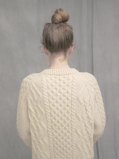 Irish sweater – Ashley Rose Helvey