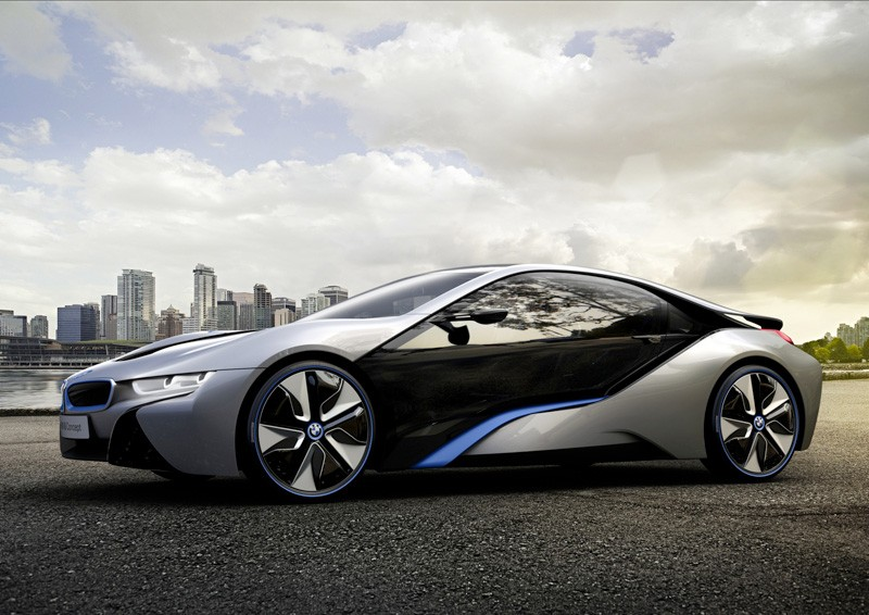 Yes. A car. A hybrid diesel-electric BMW i8 Concept. It makes me swoon.